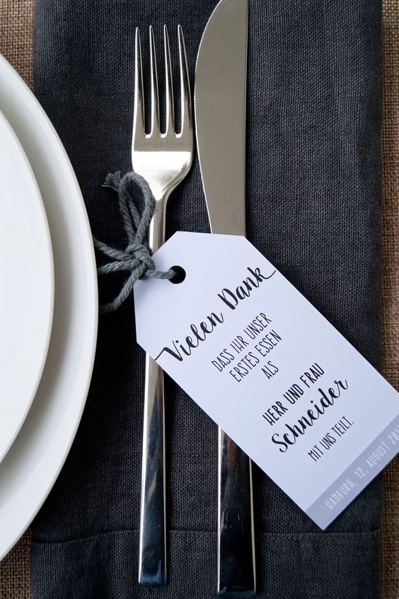Wollt ihr eure Gäste auf eine ganz besondere Weise begrüßen? Dann sind diese Willkommenskarten genau das Richtige für euch!