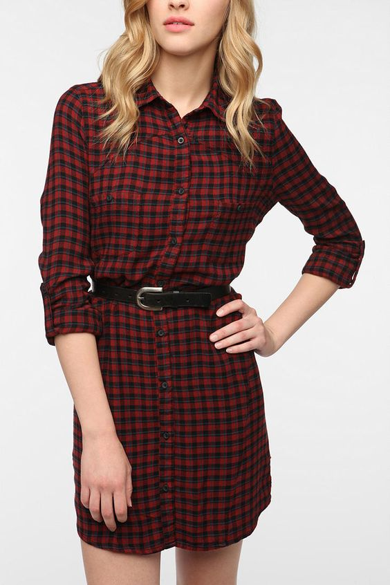 Ecote Vagabond Shirtdress  #UrbanOutfitters