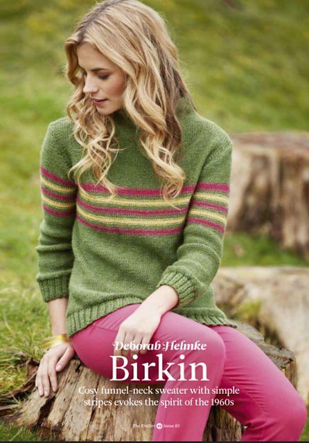 Ravelry: Birkin pattern by Deborah Helmke