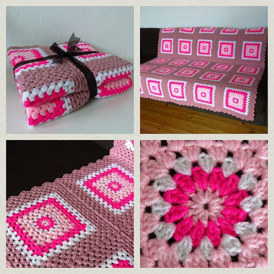 Do you know someone who would love to receive this pink blanket for Christmas?