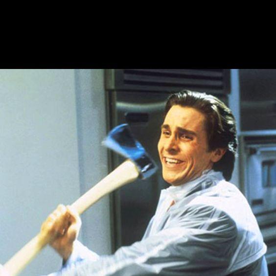 Hey Paul.....Hilarious scene...American Psycho!!!!