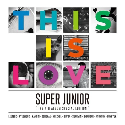 SUPER JUNIOR – THIS IS LOVE – The 7th Special Album