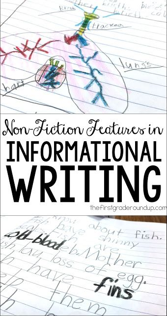 Non-Fiction Features in Informational Writing