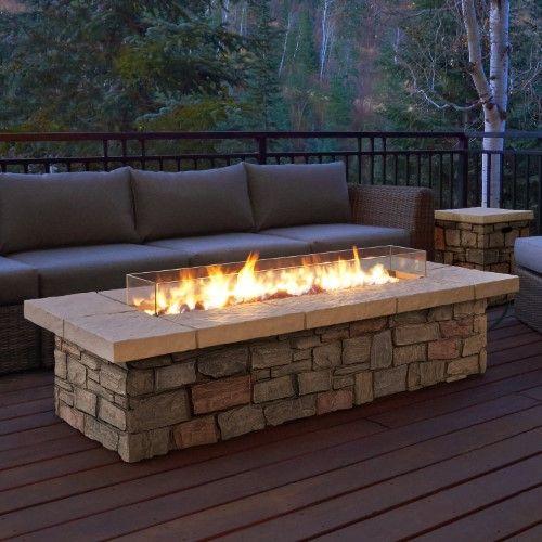 Real Flame Sedona Fire Table Backyard Fire Fire Pit Backyard Propane Fire Pit Table