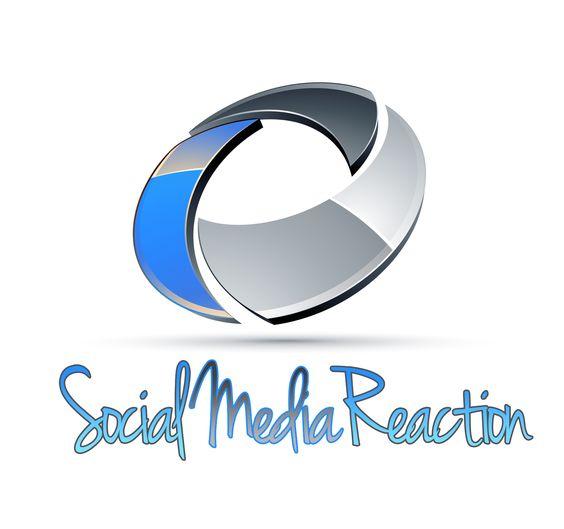A cool social media reaction logo creation