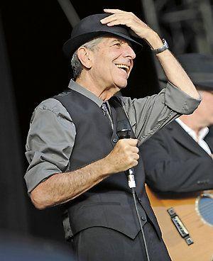 Leonard Cohen.                                                                                                                                                                                 More: