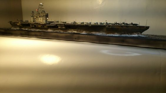 uss abraham lincoln 1/700