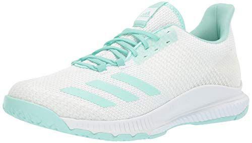 adidas Women's Crazyflight Bounce 2, White Clear Mint, 13 M ...