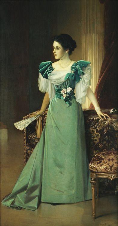 1895 Julius Kronberg - Irma von Geijer nee von Hallwyl: