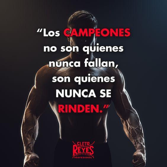 Frases Del éxito Deportivo Motivación Gimnasio Fitness