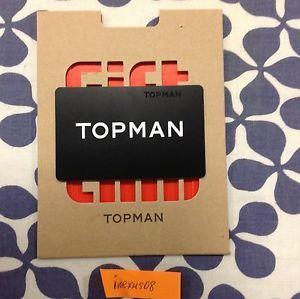 TOPMAN giftcard (20.00$)
