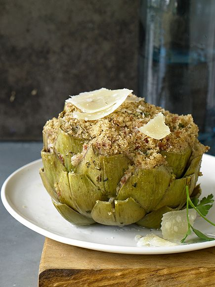 Cake Boss Buddy Valastro shares his fave non dessert recipe —stuffed artichokes!
