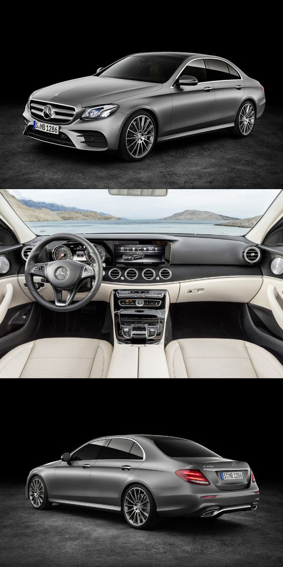 First official images of upcoming #MercedesEClass revealed ahead of its debut at the 2016 Detroit Motor Show