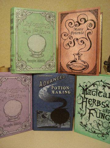 Hogwarts Textbooks!!!