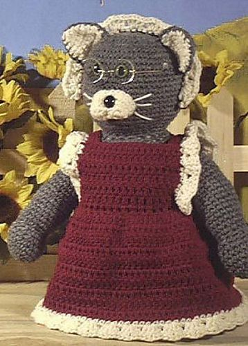 Granny Cat Amigurumi ~ Free Download Pattern