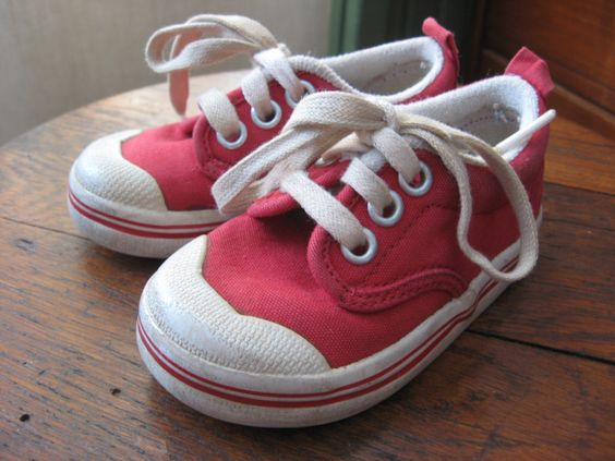 baby red keds