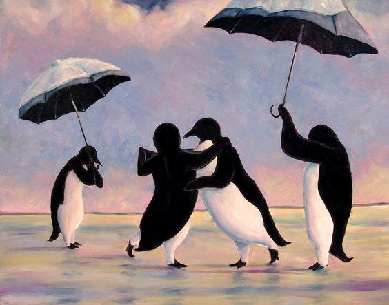 penguins art - Buscar con Google