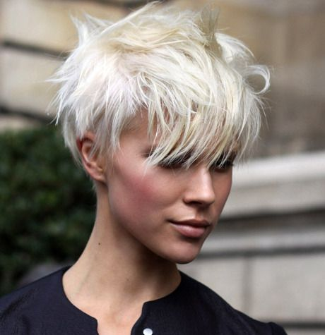 platinum crop. I dont have the guts to chop my hair but in my courageous fantasy it would look like this!