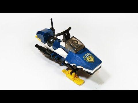 Lego Sledge Cheetah Lego Polisi Tutorial Brick Building Untuk Anak Youtube Lego City Lego Kendaraan