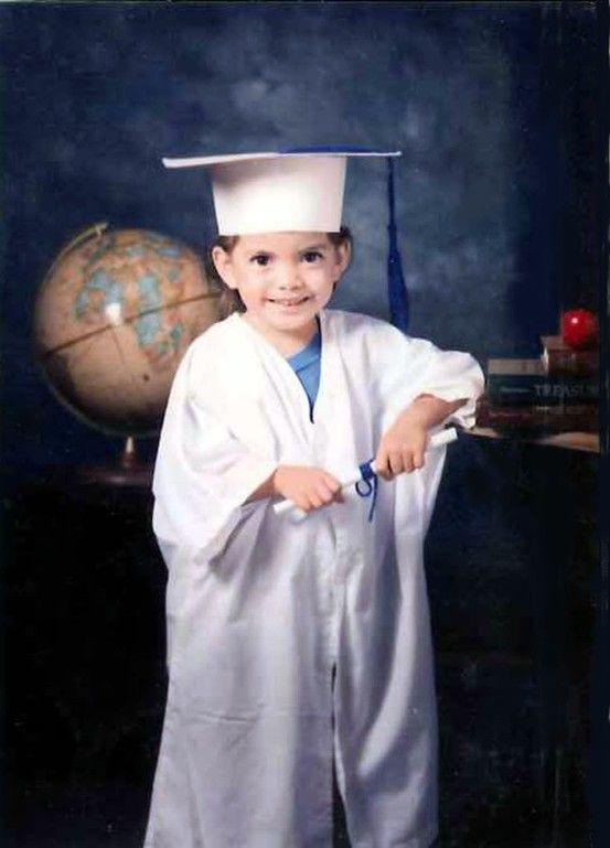 My little Evan in his cap and gown, preschool graduation. | Photos ...