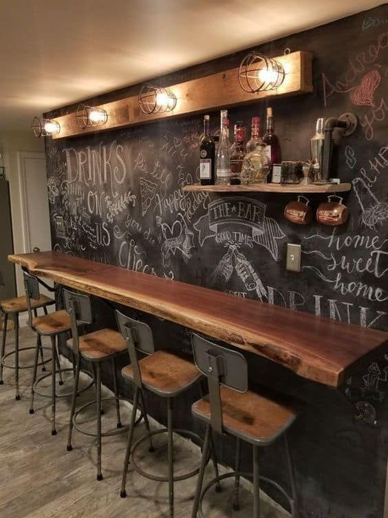 28 Exciting Ideas To Create Your Own Basement Bar In 2020