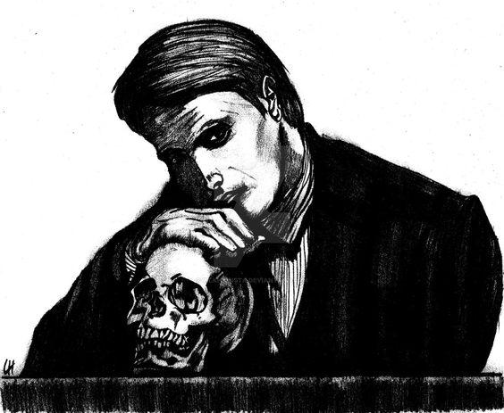 Hannibal Lecter by lilkhainsta.deviantart.com on @DeviantArt