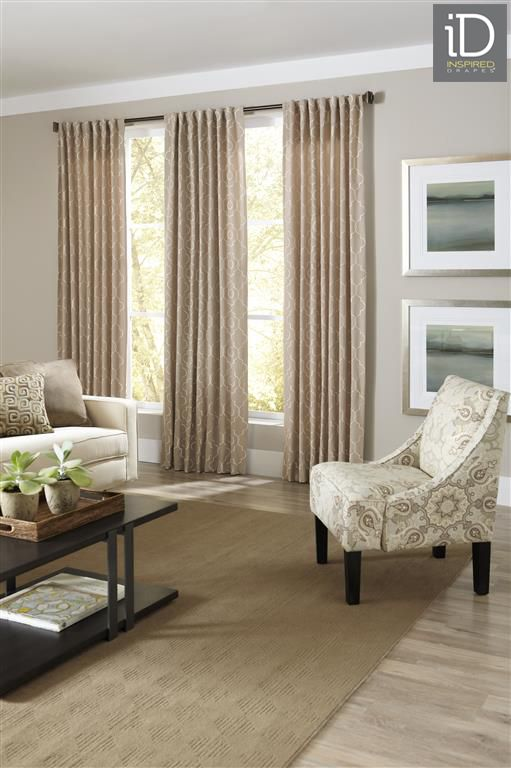 Window Drapes, Curtains - Drapery Panels, Panel Curtain Draperies - Budget Blinds Canada