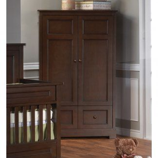 NEEDS to be WHITE -  Pali Aria Collection Armoire (Mocacchino)  Dimensions:  42 x 21.5 x 68.25