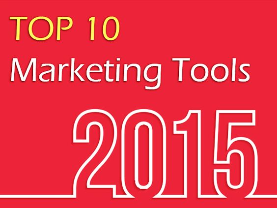 2015's Top 10 Marketing Tools for Content Marketing and Social Media