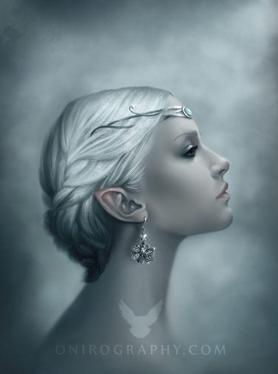 """""""snow queen portrait""""   *RozennIlliano on deviantART"""