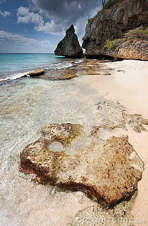 Tropical Beach cupecoy beach st marteen