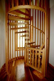 Best Enclosed Spiral Stairs For The Home Pinterest Black 400 x 300