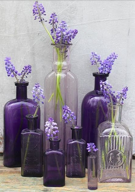 Purple vintage beauty • photo: Laura Kaufmann on 52 Flea:
