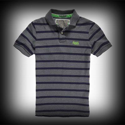人気で急成長を続けているイギリスで産まれた日本未入荷ブランド Superdry極度乾燥 Twist Yarn Polo Shirt ポロシャツ アバクロ ホリスターより個性派! #ITSHOPアバクロcom