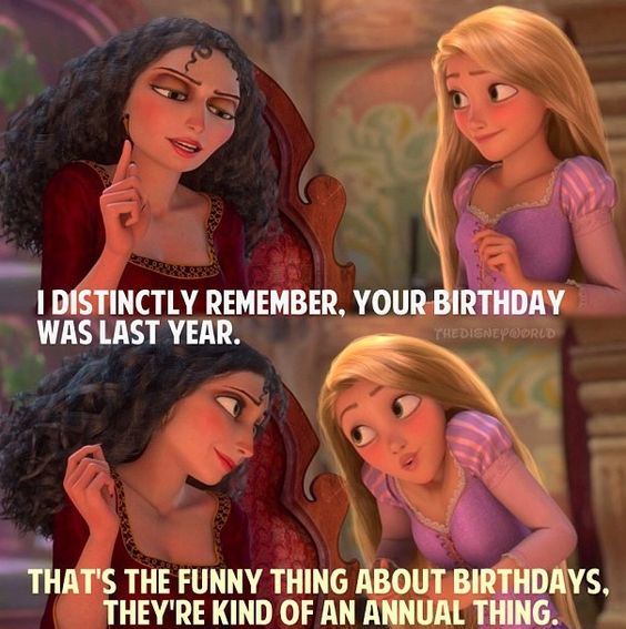 Image result for and it's kind of my birthday tangled