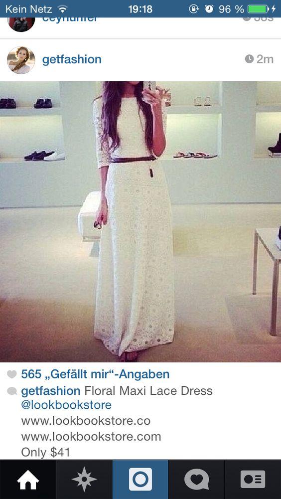 White long dress...