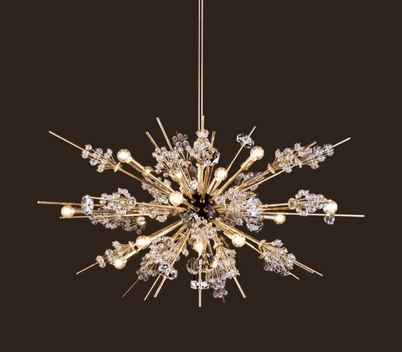 LOBMEYR LIGHTING - Metropolitan Chandelier. This chandelier is sold at TableArt on Melrose and looks amazing hanging above the dining room table.