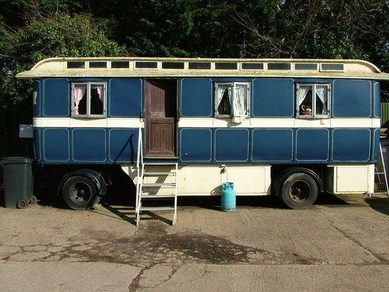 Showmans living wagon caravan glamping classic roma gypsy not shepherds hut gypsy - The mobile shepherds wagon ...