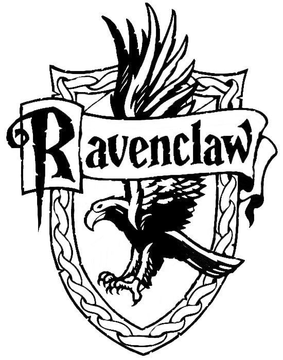 Pin By Asool On Harry Potter Harry Potter Drawings Harry Potter Coloring Pages Ravenclaw Logo