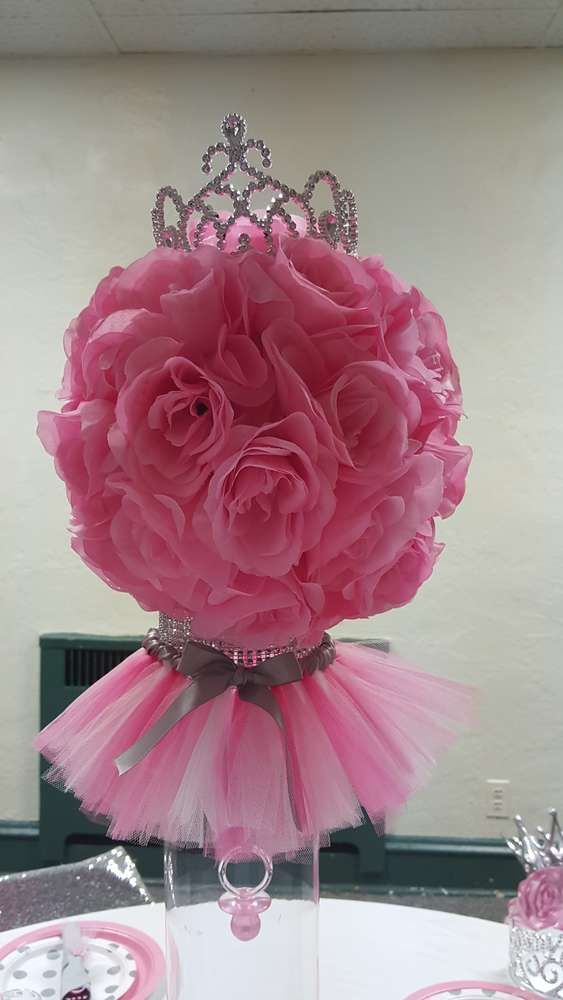 Tutus And Tiaras Baby Shower Party Ideas | Baby Shower Parties, Tutu And  Shower Party