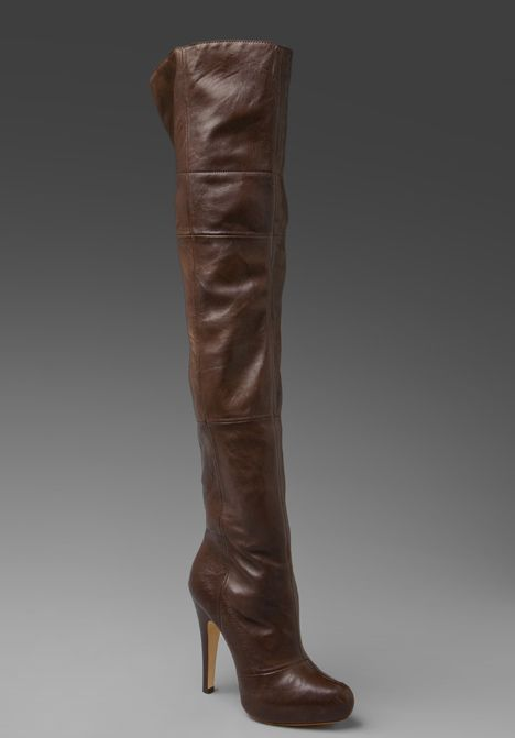 Fairfax III Over The Knee Boot | Cas Leather and The o&39jays