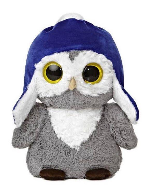 "11"" Aurora Plush Owl Dreamy Eyes Wise Family Dad Bird Stuffed Animal Toy 09818 #Aurora"