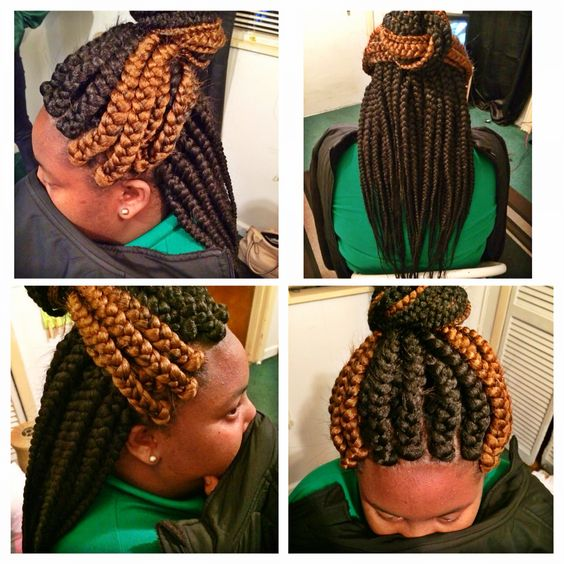 Crochet Box Braids With Rubber Bands : ... Box Braids Braids Pinterest Boxes, Braids and Jumbo box braids