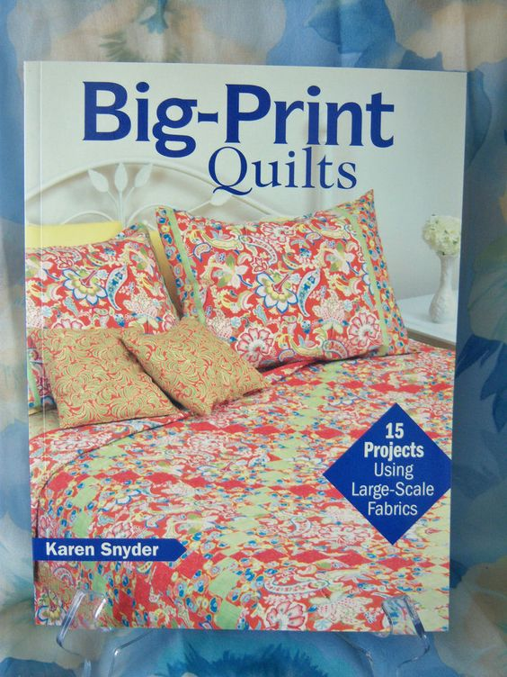 Free Quilt Patterns For Large Prints : Pinterest The world s catalog of ideas