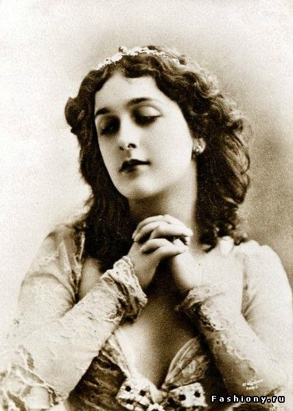 Лина Кавальери.(1874 - 1944) Куртизанка.