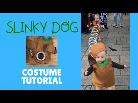 Slinky Dog Costume Tutorial Toy Story Perfect Costume Idea For