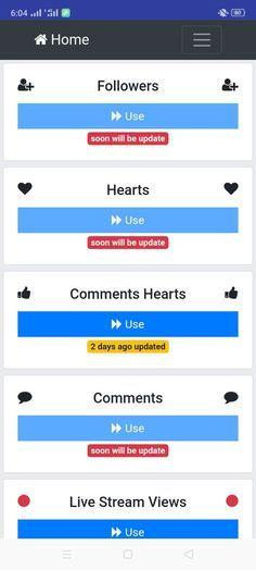 Viptools Apk Download 2020 Tiktok Tool By Viptools Es Auto Follower Heart App How To Get Followers