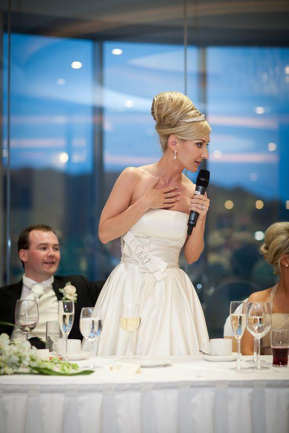 Bride's Wedding Speech - Bride Speech