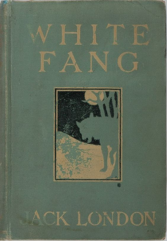 Jack London. White Fang. Macmillan Company, 1906. First edition. Color illustrations by Charles Livingston Bull: