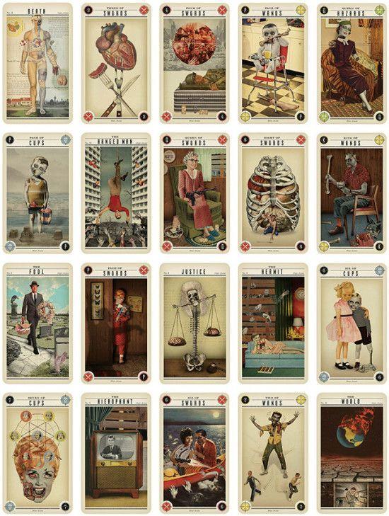 Zombie Tarot Karten